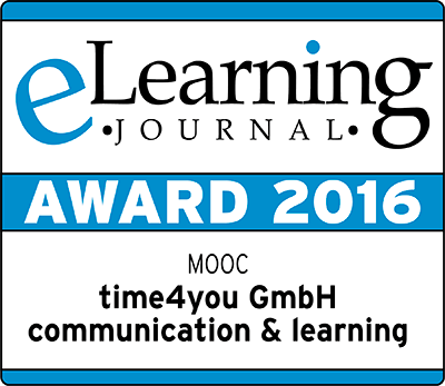eLearning Journal Award 2016 MOOC