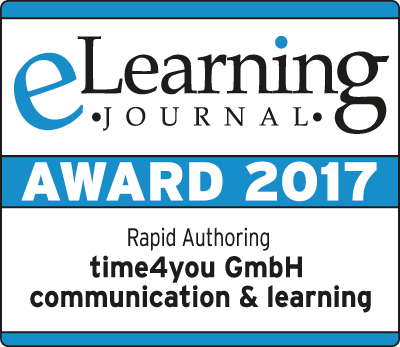 eLearning Journal Award 2017 Rapid Authoring
