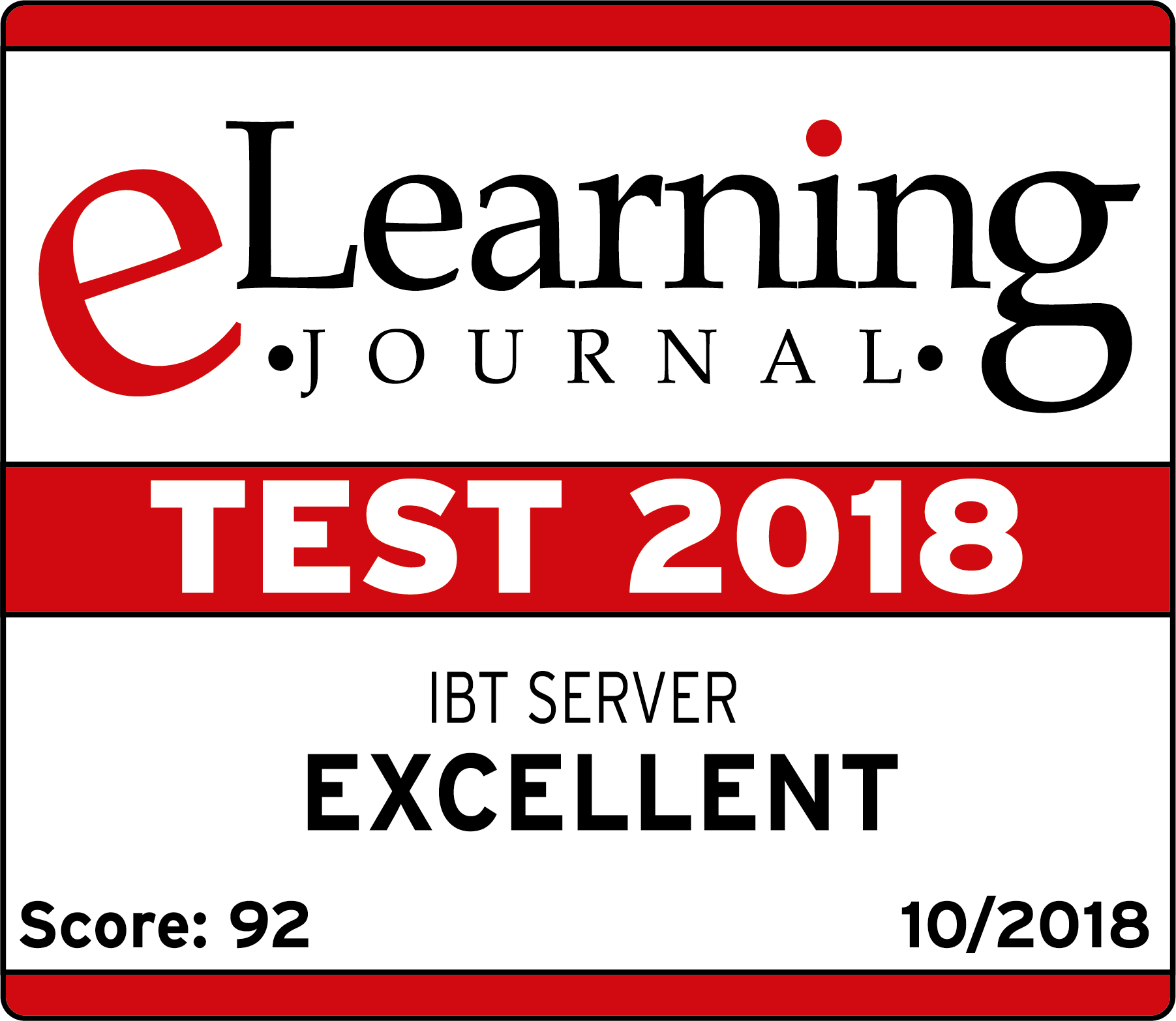 eLearning Journal Testsiegel 2018