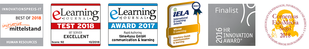 IBT Learning Content Management Awards